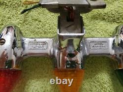 Vintage c 1950s Chicago Auto Lamp Works Car Boat Motorcycle FREE S&H Make Offer