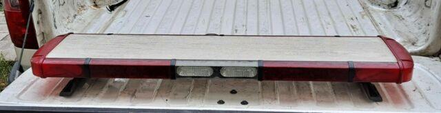 Whelen Liberty 49 Inch Led Red/clear Light Bar Works Perfect