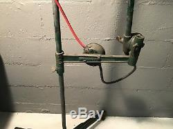 Woodward Machinist Industrial Task Auto Mechanic Lamp Light Moveable Stand WORKS